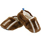 Sleepy Time Size 6-12M Football Slipper in Brown