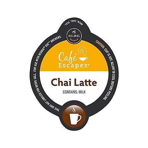 Vue™ 16-Count Cafe Escapes® Chai Latte for Keurig® Brewers