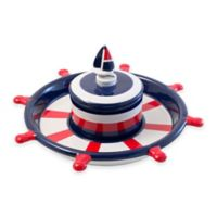 Boston Warehouse® Anchors Away Chip & Dip Platter Set in Red/White/Blue