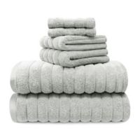 Juliette Lablanc 6-Piece Cotton Bath Towel Set in Harbor Mist