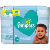 Pampers® 216-Count Soft Care Wipes in Baby Fresh