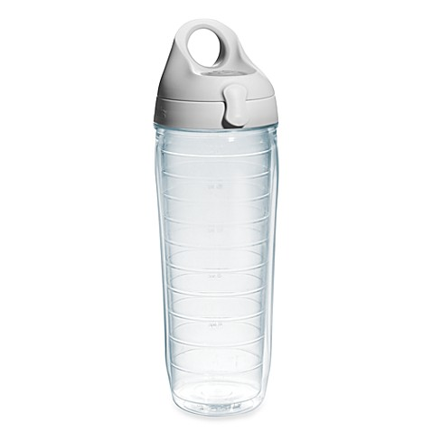 Tervis 174 24 Oz Water Bottle With Lid In Clear Bed Bath