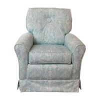 The 1st Chair™ Tate Glider in Tiffany Teal