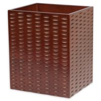 Casa Blanca Wastebasket in Wood