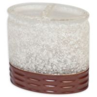 Casa Blanca Toothbrush Holder in Frosted White