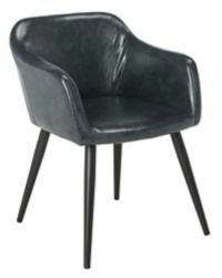 Safavieh Adalena Accent Chair in Dark Grey
