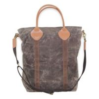 CB Station Waxed Canvas Flight Travel Bag in Olive