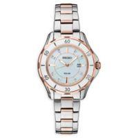 Seiko Women's Solar SUT338 Two-Tone Bracelet Watch