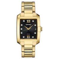 Seiko Men's 34mm Solar SNE462 Bracelet Watch