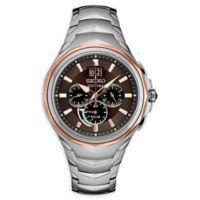 Seiko Men's 45mm Coutura SSC628 Chronograph Two-Tone Bracelet Watch
