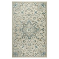 Shabby Chic Chandler 9'2 x 12'9 Power-Loomed Area Rug in Ivory/Blue