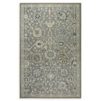 Shabby Chic Chandler 7'10 x 10'2 Power-Loomed Area Rug in Grey/Blue