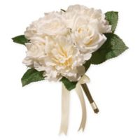 National Tree Company® Artificial Cream Rose & Hydrangea Bundle