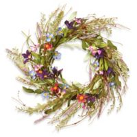 National Tree Company® 20-Inch Floral Artificial Wreath