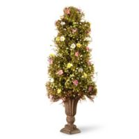 National Tree Company® 24-Inch Artificial Spring Flower Tree with Urn Planter