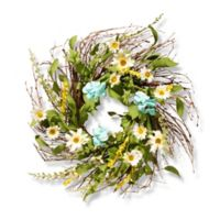 National Tree Company 22-Inch Sunflower Artificial Wreath