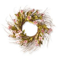 National Tree Company 22-Inch Dogwood Flowers Artificial Wreath