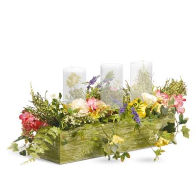 National Tree Company 22-Inch Spring Collection Candle Holder  sc 1 st  Bed Bath u0026 Beyond & Buy Plates Holders from Bed Bath u0026 Beyond