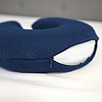 Therapedic® Travel U-Neck Pillow Protector in Navy
