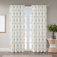 St. Martin Sheer 108-Inch Rod Pocket Window Curtain Panel in White