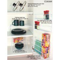 Home Basics 5-Piece Cabinet Organizer Set in Natural