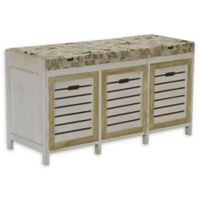 Household Essentials® Entryway Storage Bench