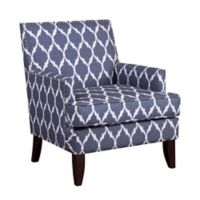 Madison Park Colton Track Arm Club Chair in Blue
