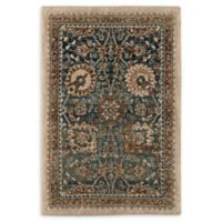 Karastan Taprobana Traditional 2' x 3' Accent Rug in Sapphire/Cream