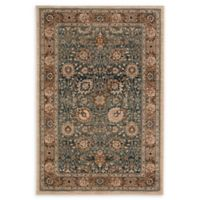 Karastan Taprobana Traditional 9'3 x 7'10 Area Rug in Sapphire/Cream