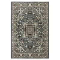 Karastan Rhodes 6'6 x 9'6 Area Rug in Ash Grey