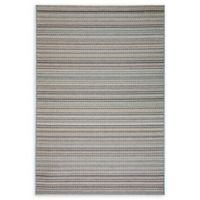 Dynamic Rugs Brighton Whitby Indoor/Outdoor 2' x 3' Accent Rug in Blue