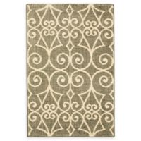 Karastan Fasney 2' x 3' Woven Accent Rug in Ash Grey