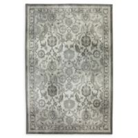 Karastan New Ross 6'6 x 9'6 Woven Area Rug in Ash Grey