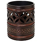 India Ink Anaka Wastebasket in Bronze