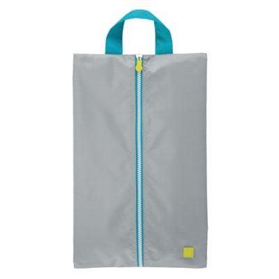 534b5930535a InterDesign® Travel Shoe Bag in Grey
