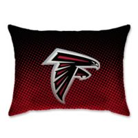 NFL Atlanta Falcons Plush Dot Standard Bed Pillow