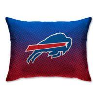 NFL Buffalo Bills Plush Dot Standard Bed Pillow