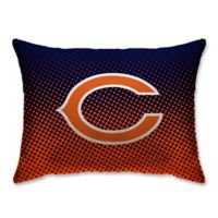 NFL Chicago Bears Plush Dot Standard Bed Pillow