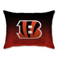 NFL Cincinnati Bengals Plush Dot Standard Bed Pillow