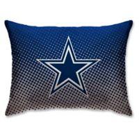 NFL Dallas Cowboys Plush Dot Standard Bed Pillow