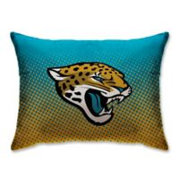 NFL Jacksonville Jaguars Plush Dot Standard Bed Pillow