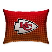 NFL Kansas City Chiefs Plush Dot Standard Bed Pillow