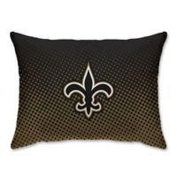 NFL New Orleans Saints Plush Dot Standard Bed Pillow