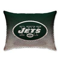 NFL New York Jets Plush Dot Standard Bed Pillow