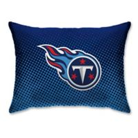 NFL Tennessee Titans Plush Dot Standard Bed Pillow