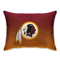 NFL Washington Redskins Plush Dot Standard Bed Pillow