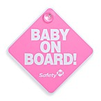 Safety 1st®  Baby On Board Sign in Pink