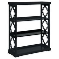 Powell Conrad Medium Bookcase in Black