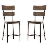 Hillsdale Furniture Jennings Non-Swivel Counter Stools (Set of 2)