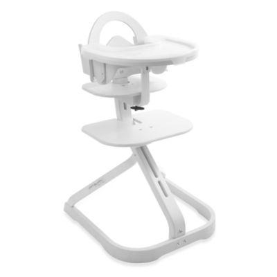Svan® Signet Essential High Chair In Whitewash U003e Svan® Signet Baby Kit In  White